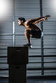 vertical jump increase at home